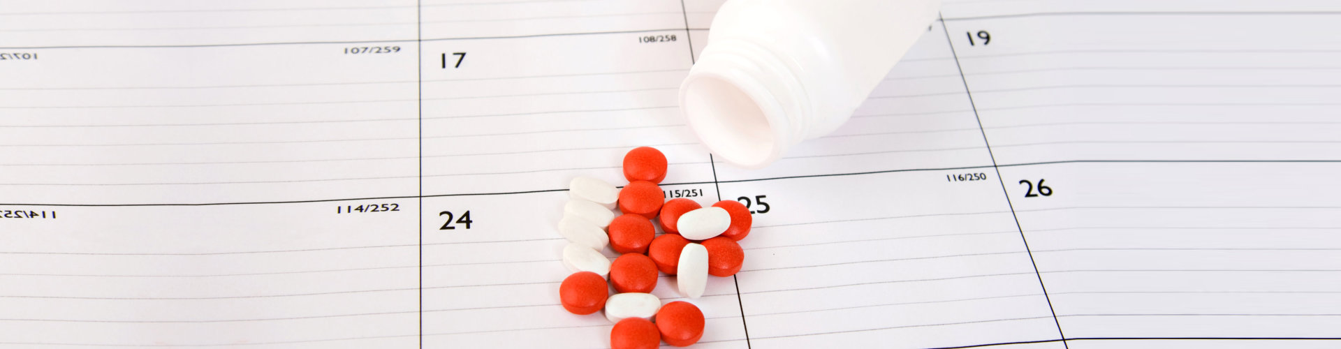 orange and white tablets